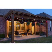 Color Changing Vintage LED String Lights, 24 Bulbs, 48 Ft. Black or White Cord, Linkable  - Image #4