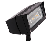 LED Flood Light, 18W, 120-277V, Bronze  - Image #2