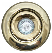 Gimbal Ring Brass Trim for 4 Inch Low Voltage Recessed Can Light