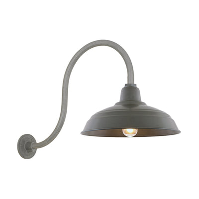 "13"" Shade Hi-Lite Gooseneck, Warehouse Collection, H-15113 Series (Available in Multiple Color Finishes)"