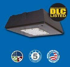 LED 40 or 60 Watt Low Profile Canopy Universal Ballast 120-277 CP_WLEDUNIV