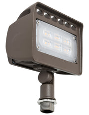 "LED Architectural Flood Light with 1/2"" Knuckle, 12 watt, 120-277V"