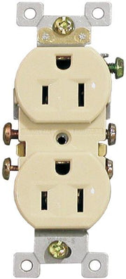 Ivory Standard Duplex Receptacles  - Image #4