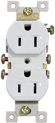 White Standard Duplex Receptacles  - Image #5