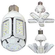 SATCO 30W LED HID Replacement; 2700K or 5000K; Medium base; Adjustable beam angle; 100-277V