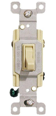 Ivory Three Way Toggle Switch