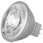 SATCO 8W; LED MR16; 2700K, 3000K, 3500K, 4000K or 5000K; 15 deg. beam spread; GU5.3 base; 12V  - Image #1