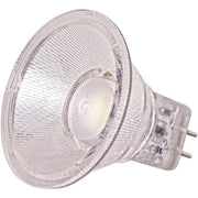SATCO 1.6W; LED MR11 LED; 3000K or 5000K; 40 deg. beam spread; G4 base; 12V  - Image #1