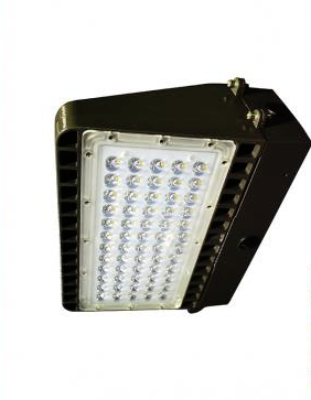 LED Wall Pack, 80W, 8,800 Lumens, Comparable to 350 Watt Fixture, 120-277V