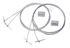5' Air Craft Cable Kit HB-60-18Y-PAD