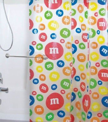 MM's Candy Shower Curtain