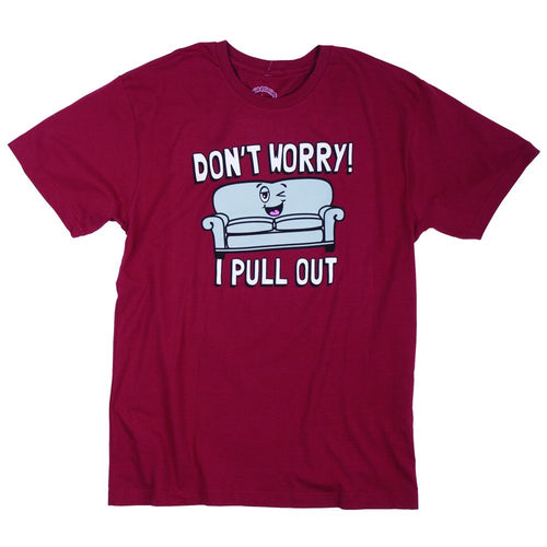 David & Goliath® Don't Worry I Pull Out Men's Tee Shirt