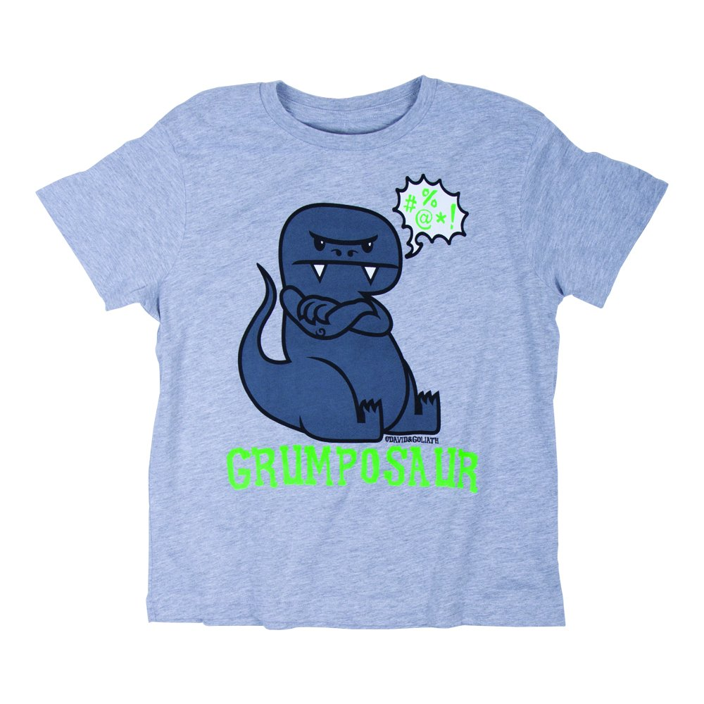 David & Goliath® Grumposaur Boys Tee Shirt