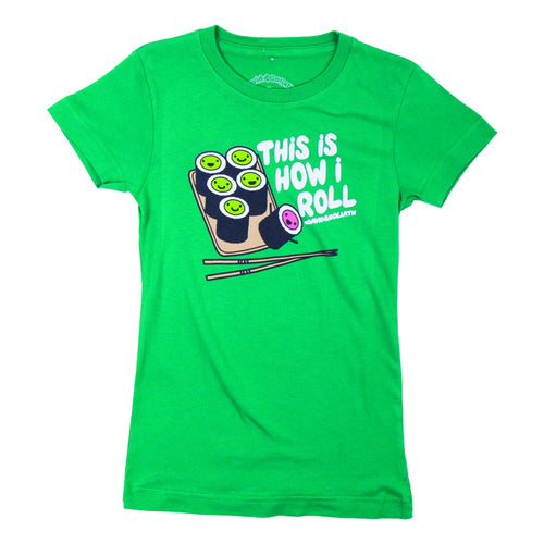 David & Goliath® This Is How I Roll Girls Tee Shirt