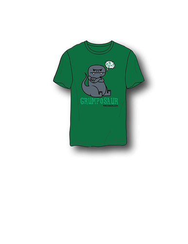 David & Goliath® Grumposaur Adult Mens Tee Shirt