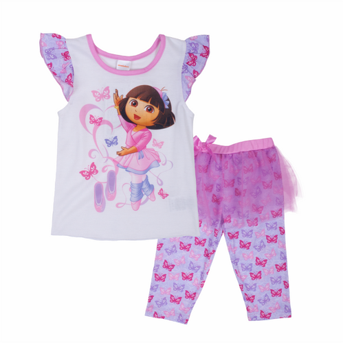 Dora The Explorer Ballet 2PC Set