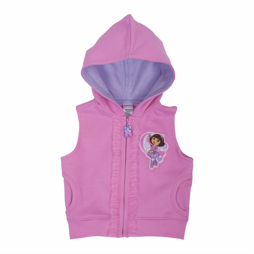 Dora The Explorer Ballet Sleeveless Jacket