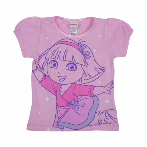 Dora The Explorer Ballet Puff Tee
