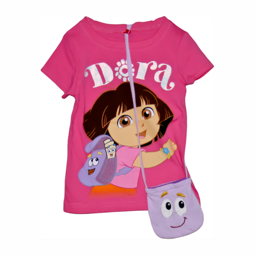 Dora The Explorer Tee W/ Purse