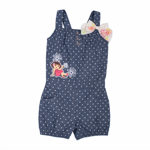 Dora The Explorer Dotted Romper