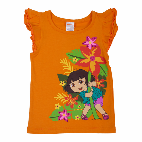 Dora The Explorer Rainforest Flutter Tee