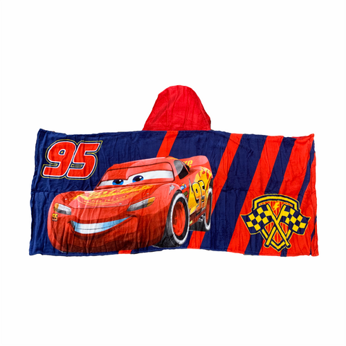 Cars Lightning McQueen Hooded Towel