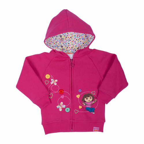 Dora The Explorer Imagination Zip Hoodie