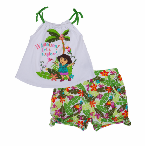 Dora The Explorer Rainforest Tank/Shorts Set