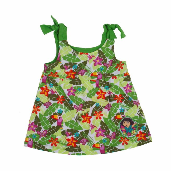 Dora The Explorer Rainforest Swing Tank Top