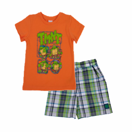 TMNT Retro Toddler 2PC Set