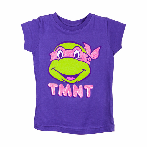 TMNT Retro Girls Pink Mask Tee