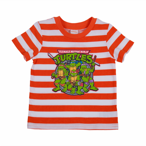 TMNT Retro Striped Tee