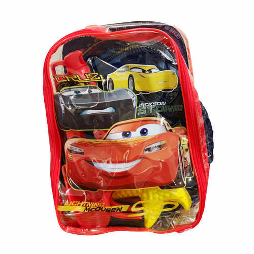 Cars Beach Toy Backpack