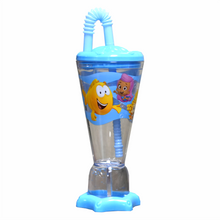 Load image into Gallery viewer, Bubble Guppies Trophy Tumbler W/ Straw