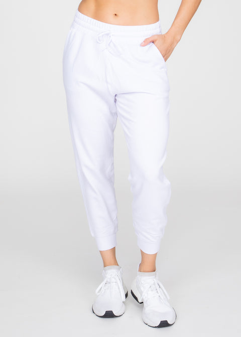 Fleece Cropped Jogger
