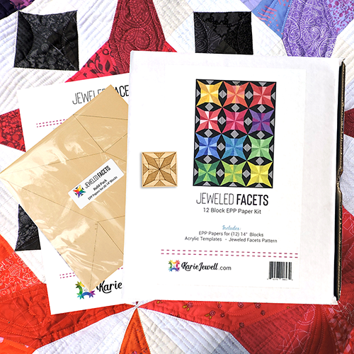 Jeweled Facets EPP Paper Kit