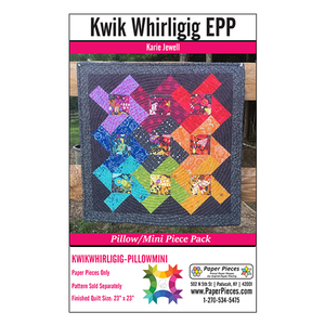 Kwik Whirligig Pattern & Paper Pack - Mini