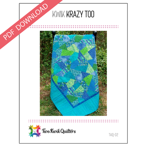 Kwik Krazy Too Pattern - PDF