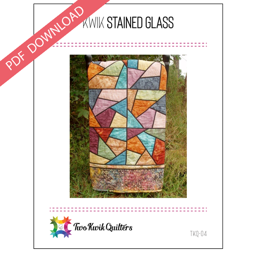 Kwik Krazy Stained Glass Pattern - PDF