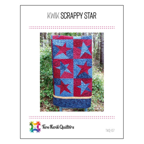 Kwik Scrappy Star Pattern