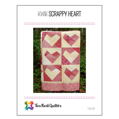 Kwik Scrappy Heart Pattern