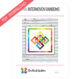 Kwik Interwoven Rainbow Pattern - PDF