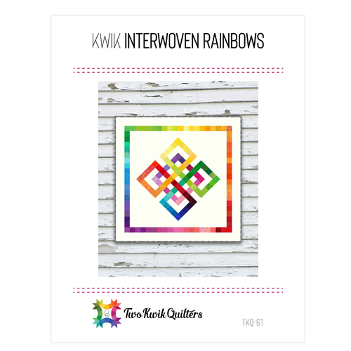 Kwik Interwoven Rainbow Pattern