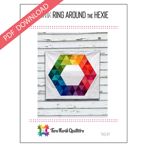Kwik Ring Around the Hexie Pattern - PDF