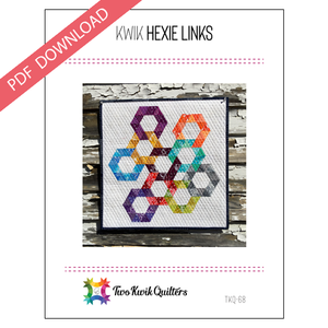 Kwik Hexie Links Pattern - PDF