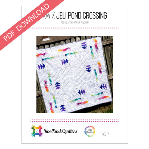Kwik Jeli Pond Crossing Pattern - PDF
