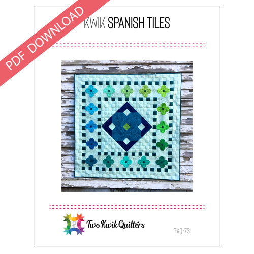 Kwik Spanish Tiles Pattern - PDF