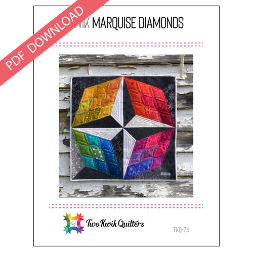 Kwik Marquise Diamonds Pattern - PDF