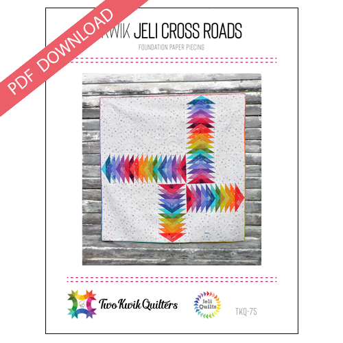 Kwik Jeli Cross Roads  Pattern - PDF