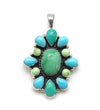 Variscite and Turquoise Pendant